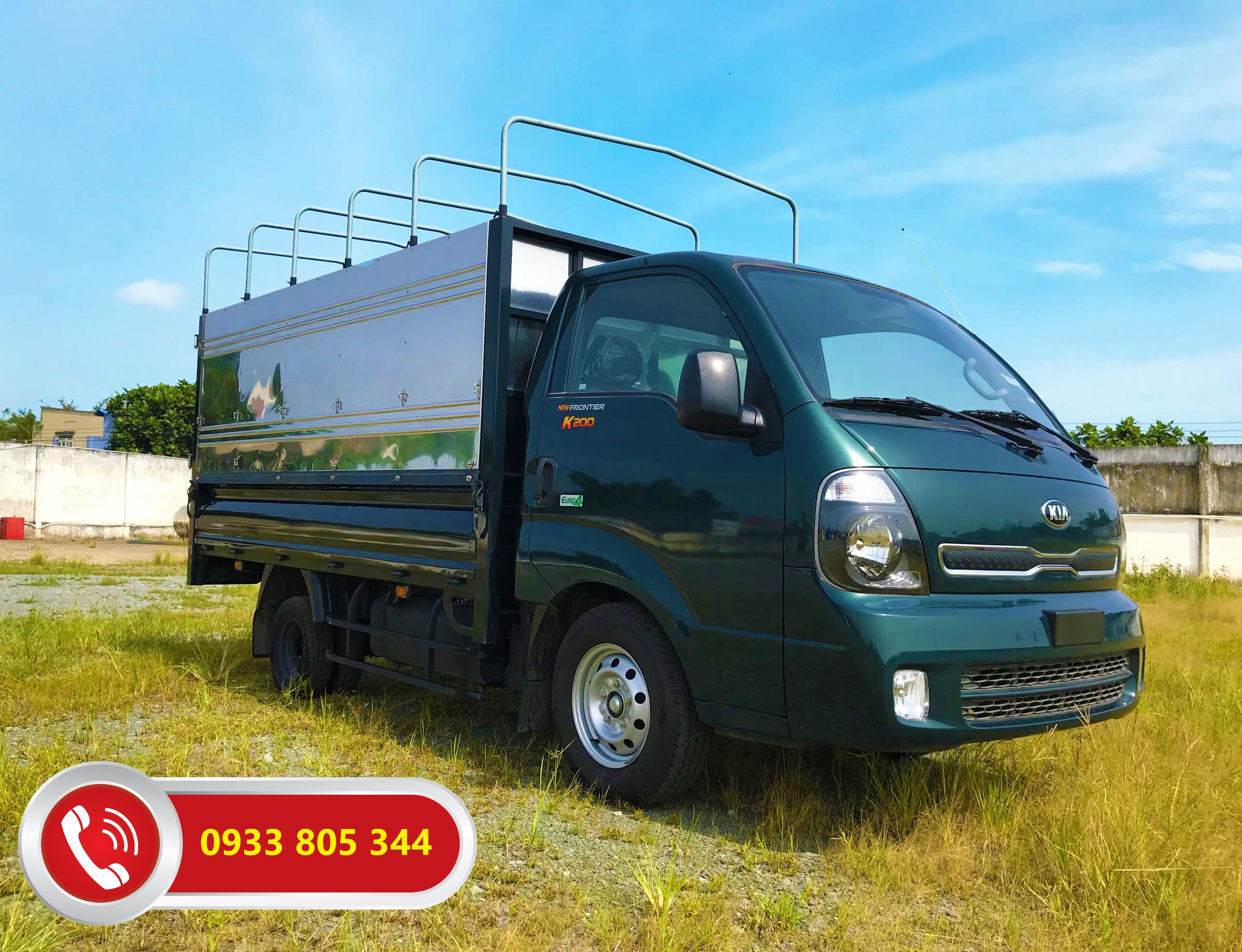 Xe-tải-nhẹ-Thaco-Kia-K200-tải-trọng-1.9-tấn-Thùng-mui-bạt